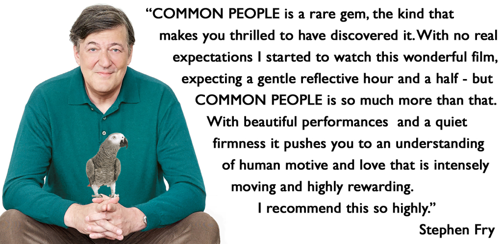 Common People Highly Recommended by Stephen Fry
